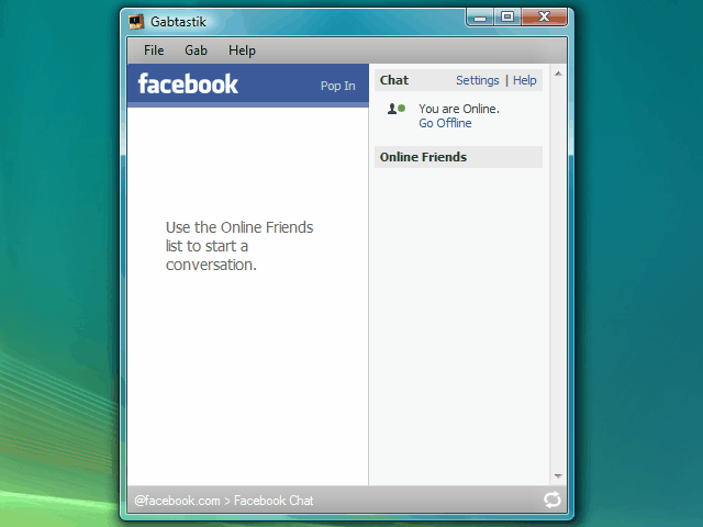 facebook chat google talk