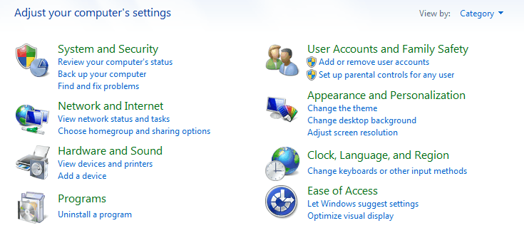 disable homegroup windows 7