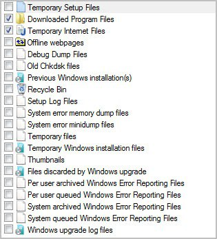 advanced disk cleanup