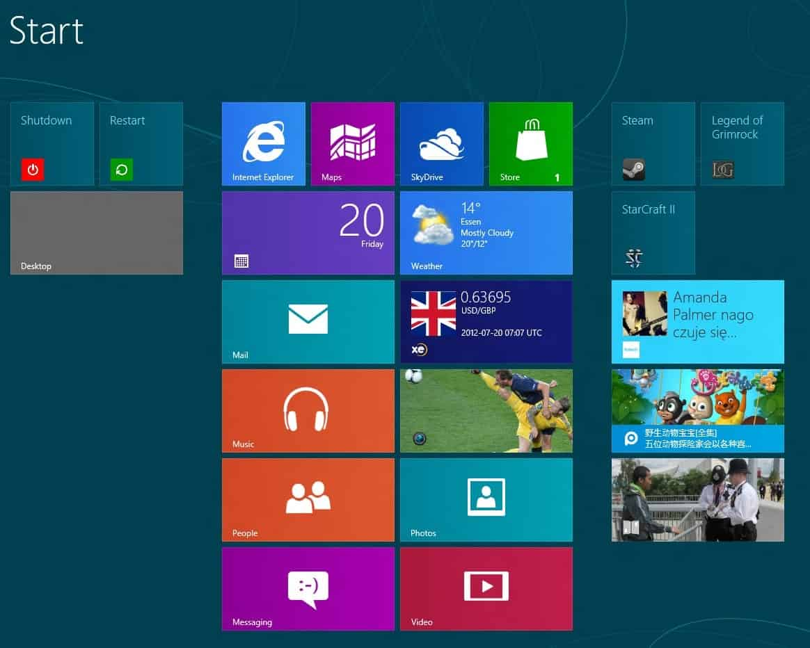 Microsoft lost control over the Windows Tiles domain and someone took it