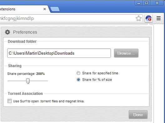 download torrents firefox chrome