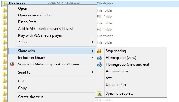 file history share