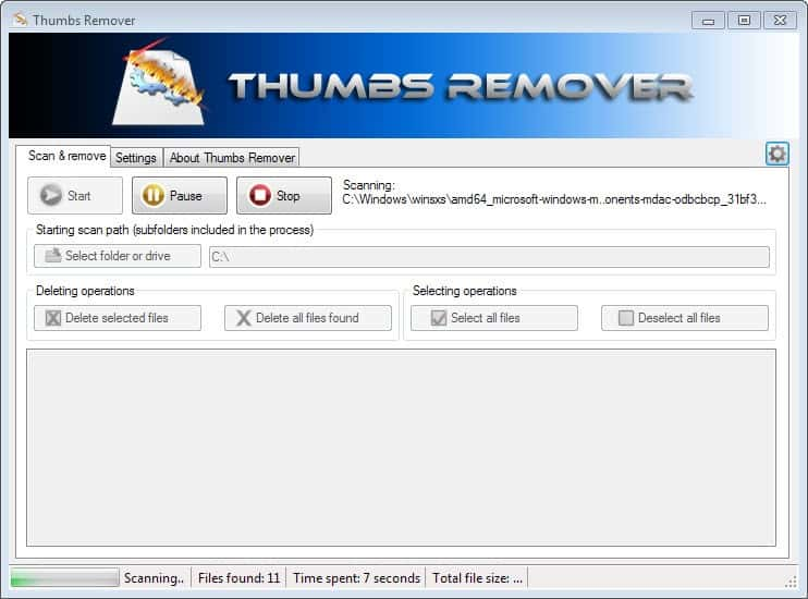 thumbs remover