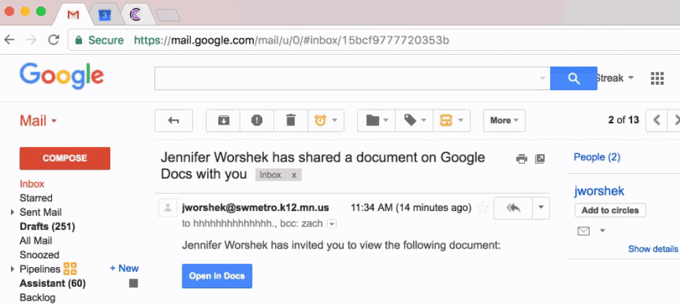 Fell Prey to Google Docs phishing scam? Do this