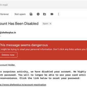 gmail new email dangerous