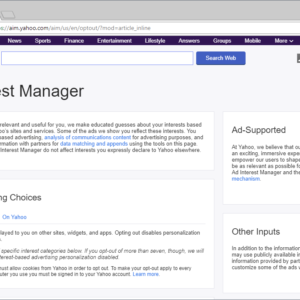 yahoo opt-out