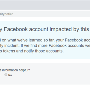 facebook hack account affected