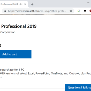 office 2019 pro price
