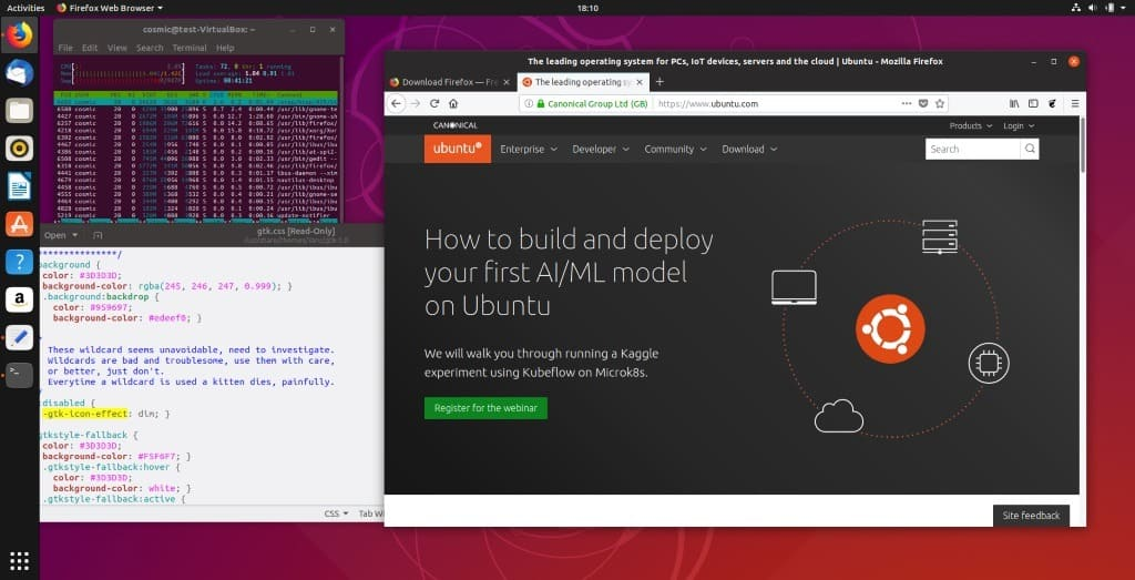 Ubuntu 18.10 released with new desktop theme