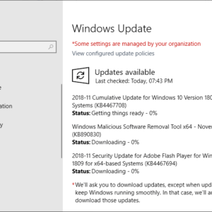 windows security updates november 2018