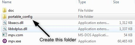 How to customize the settings in mpv