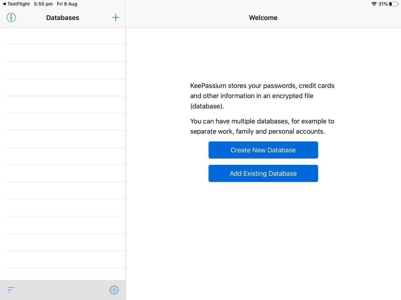 KeePassium is an open-source KeePass client for iOS