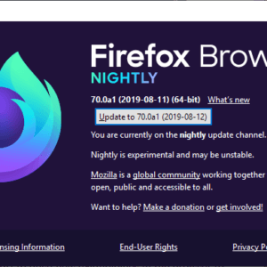 firefox browser nightly name