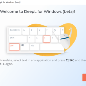 deepl translator windows beta
