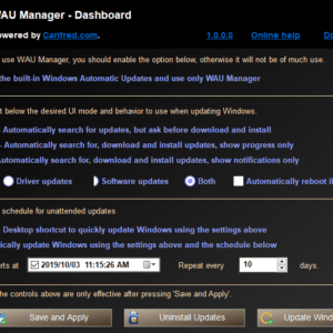windows automatic updates manager