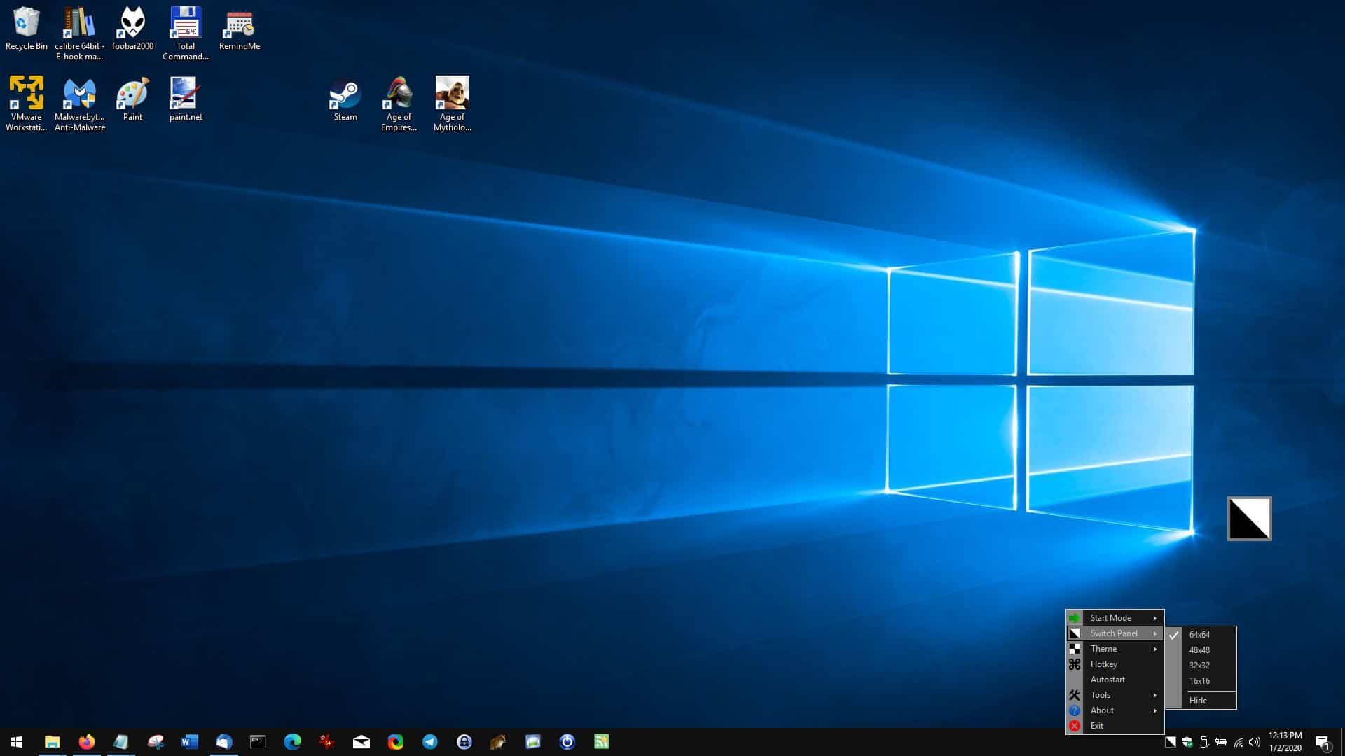 Enable dark theme on Windows 10 with a single click or hotkey using Easy Dark Mode