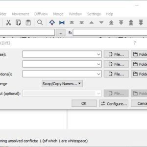 KDiff3 is an open source, cross-platform file comparison and merge tool