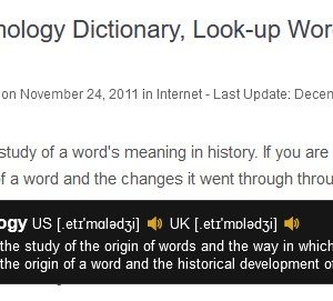 Get the definition of a selected word in a floating pop-up with the Dictionaries extension for Firefox and Chrome