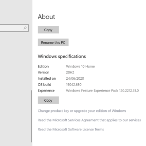 windows feature experience pack