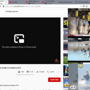 firefox multiple picture-in-picture videos
