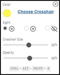 CrossOver is a program that lets you add a custom crosshair to make aiming easier in games