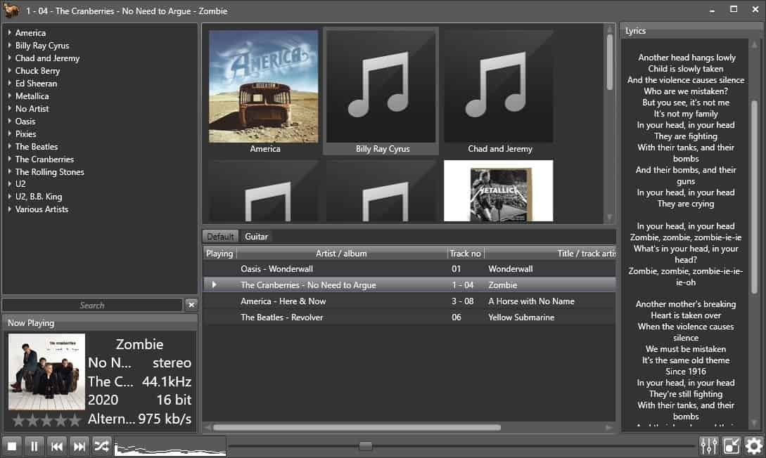 Fox Tunes is a customizable and open source music player, converter