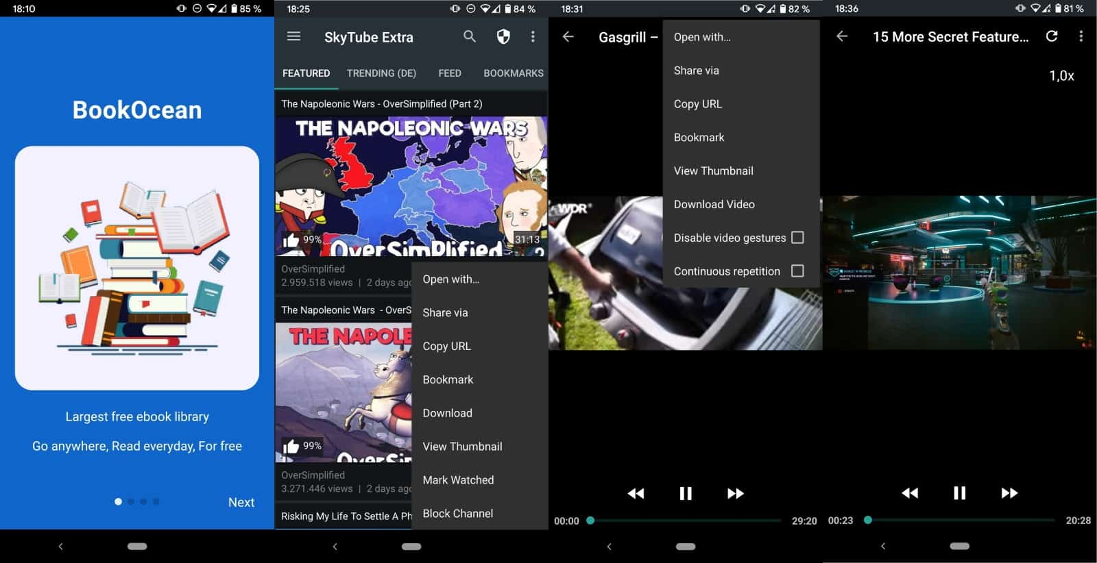 skytube youtube app android open source