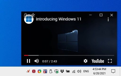 uView Player Lite interface