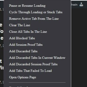 Load tabs in batches with the Load Background Tabs Lazily extension for Firefox and Chrome