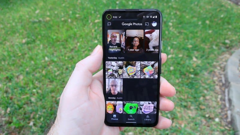 Google Photos finally released a memories widget for Android