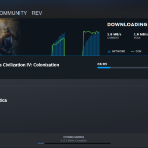 steam new downloads manager